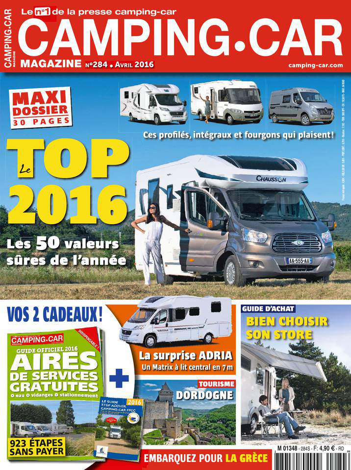 Camping-car - Avril 2016