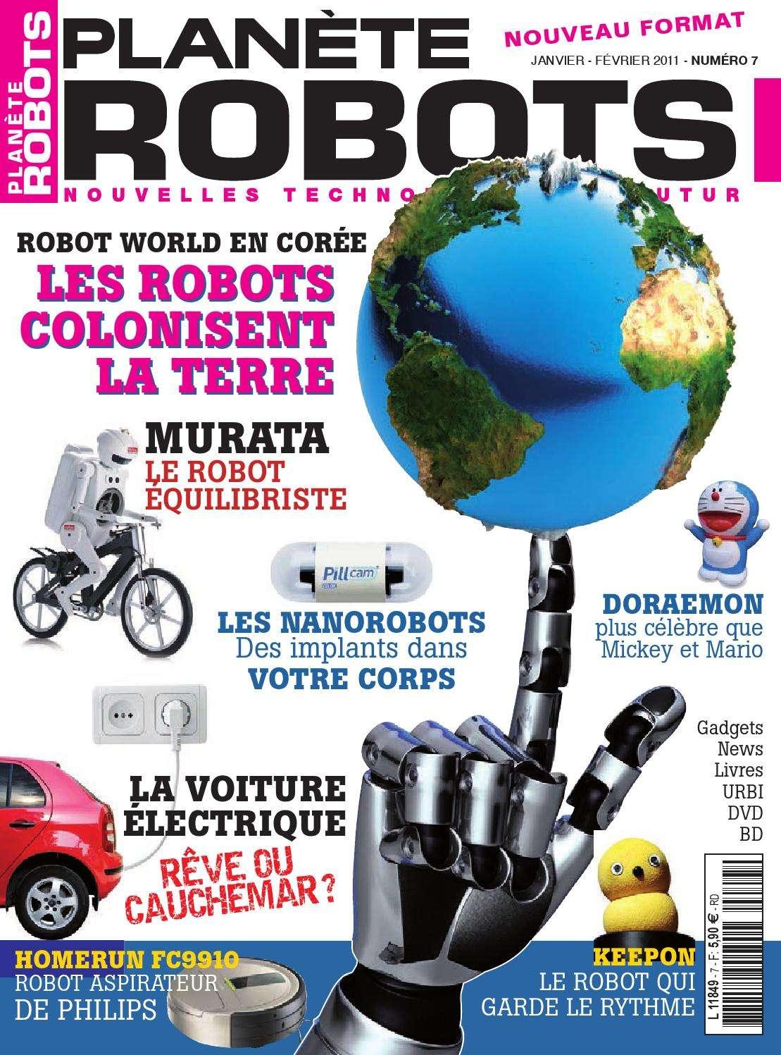 Planète Robots 7 - Les Robots Colonisent La Terre