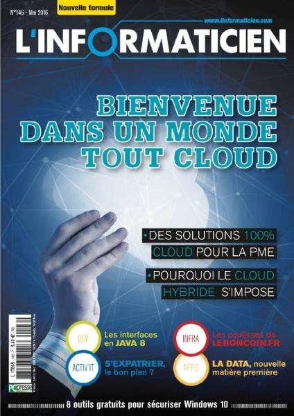 L'Informaticien 146 - Mai 2016