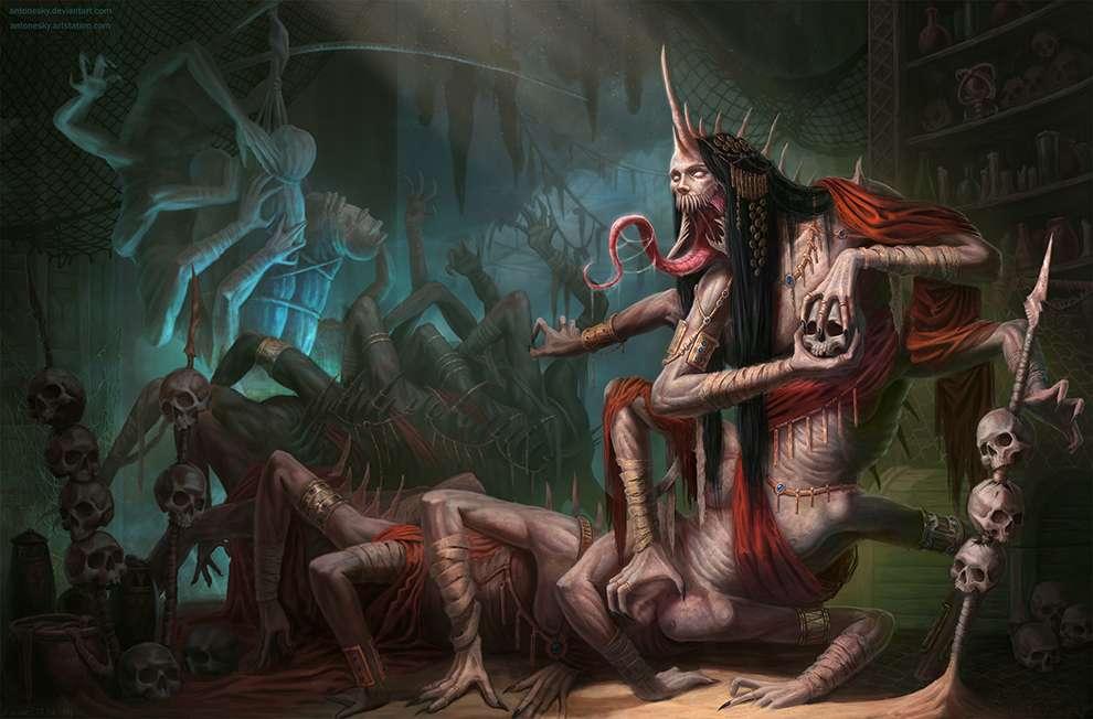 Freelance Concept Artist/illustrator (fantasy,  sci-fi) available for work