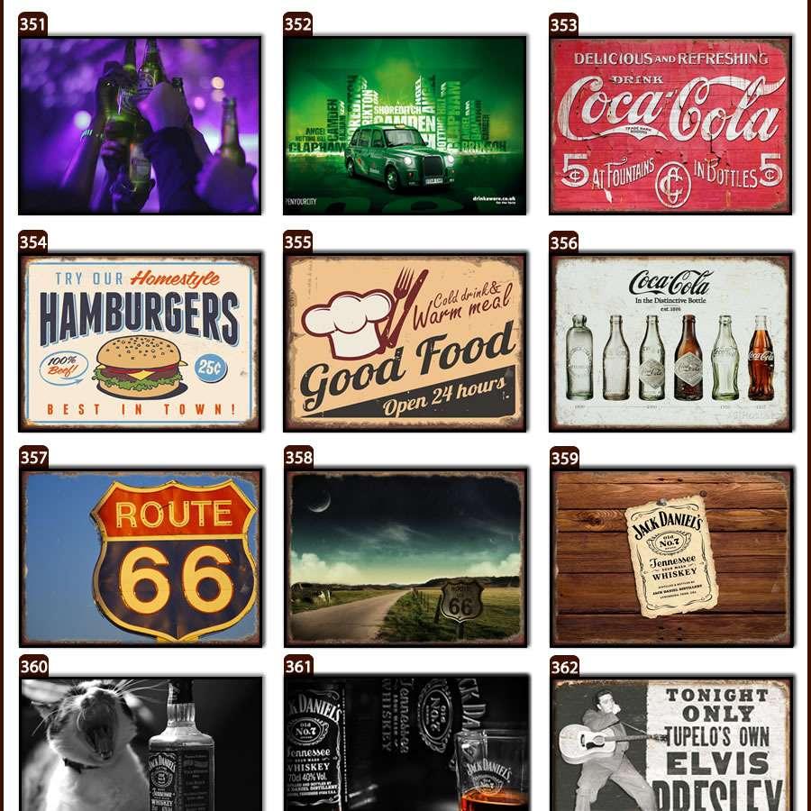 Placas, Vintage, Retro, Cerveja, Decoração, Antigas, MDF, Barbearia, Carlsberg, Keep Calm, Calendário