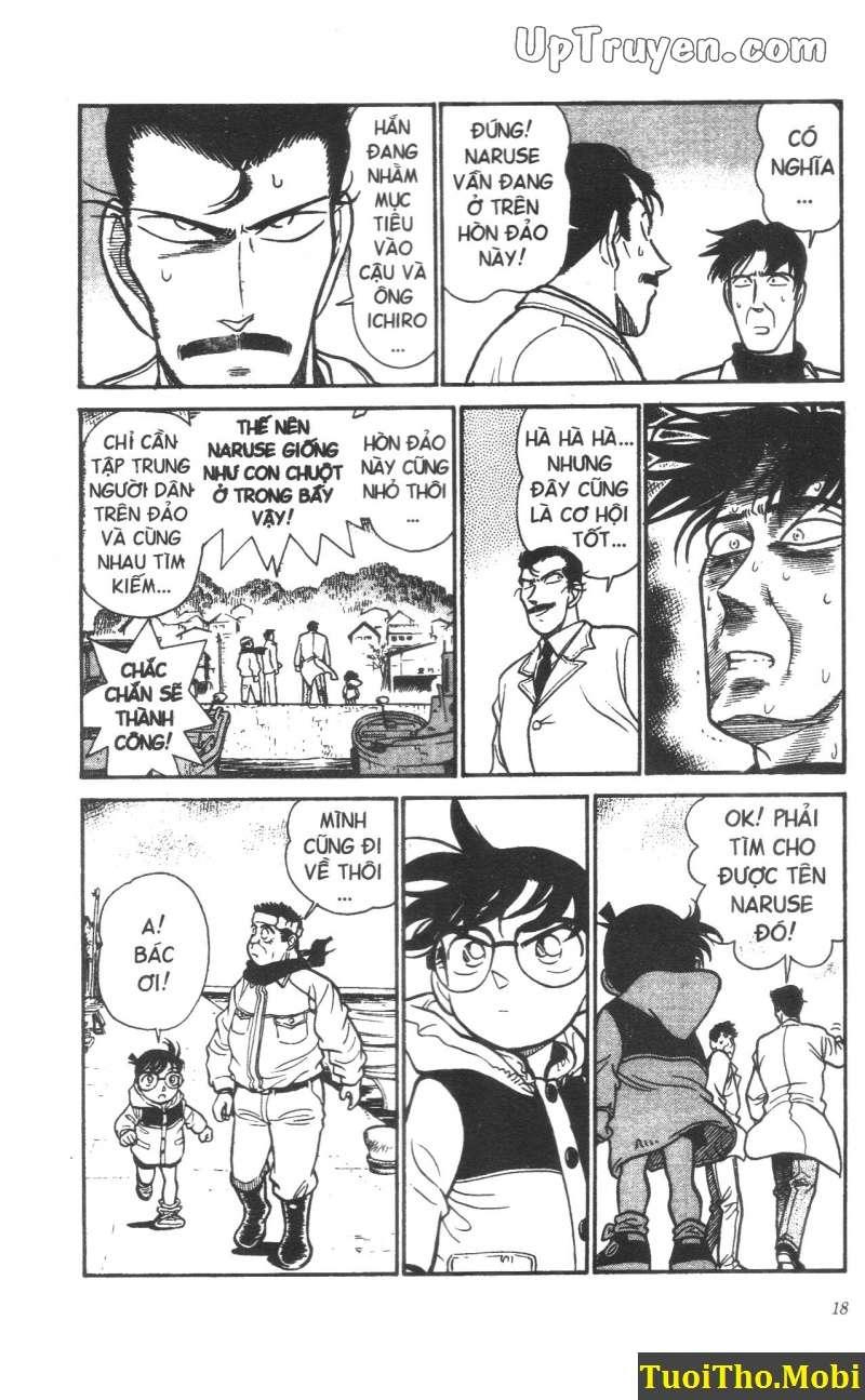 đọc truyện Conan bộ đặc biệt chap 10 trang 13