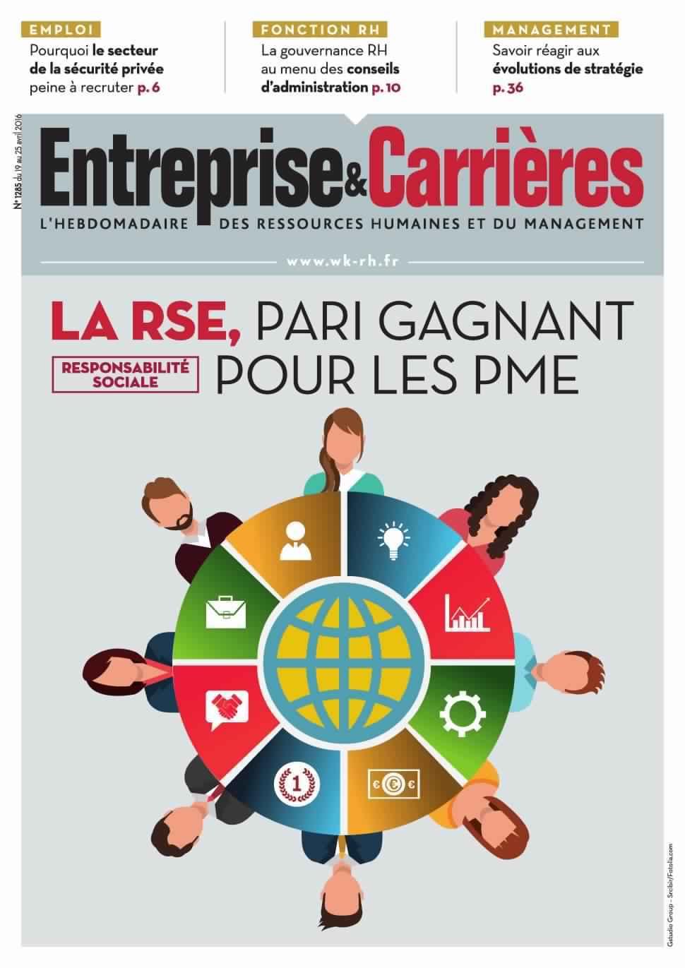 Entreprise & Carrières 1285 - 19 au 25 Avril 2016