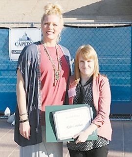 Rylee Louthan Wins Second in Statewide Essay Contest