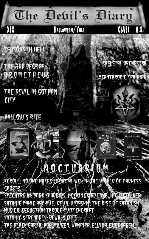 The Devil's Diary XIX: Halloween/Yule XLVII A.S.