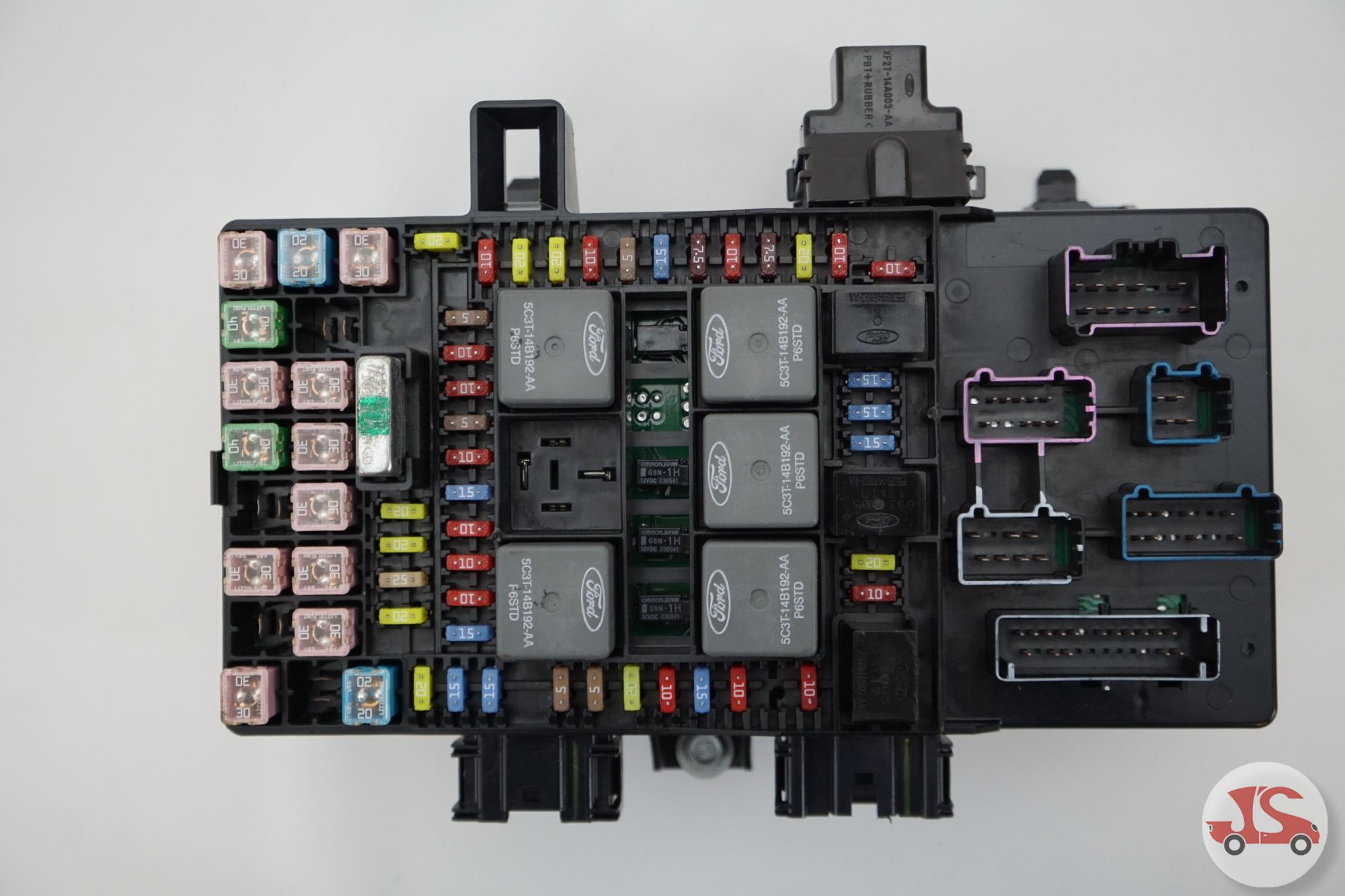 2005 - 2008 Ford F-150 Fuse Box Relay Power Distribution ...