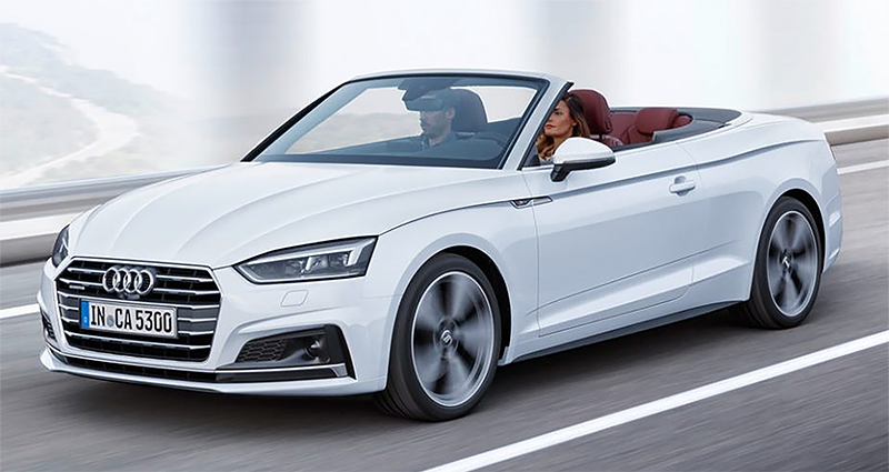 2018 Audi A5 Cabriolet Foreign College Student Plan
