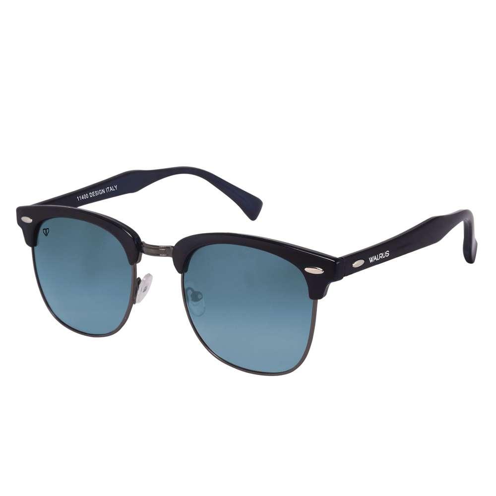 Walrus Michel Blue Color Unisex Wayfarer Sunglass - WS-MCHL-II-030202
