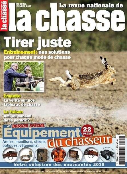 La Revue Nationale de la Chasse 826 - Juillet 2016