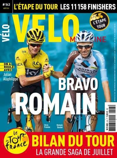 Vélo Magazine - Août 2016