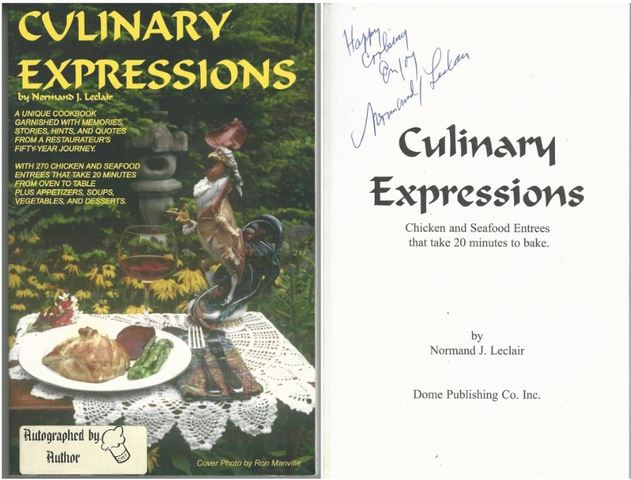 Culinary Expressions, Leclair, Normand J.