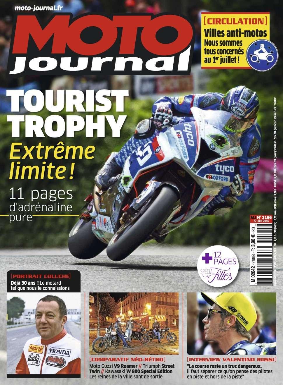 Moto Journal 2186 - 22 Juin 2016