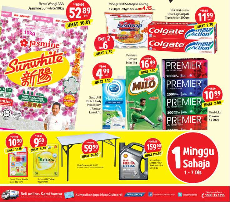 Tesco Malaysia Weekly Catalogue (1 December - 7 December 2016)