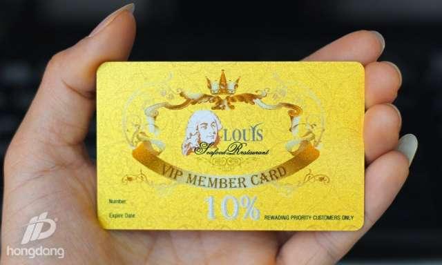 In thẻ VIP chất lượng tại hà Nội