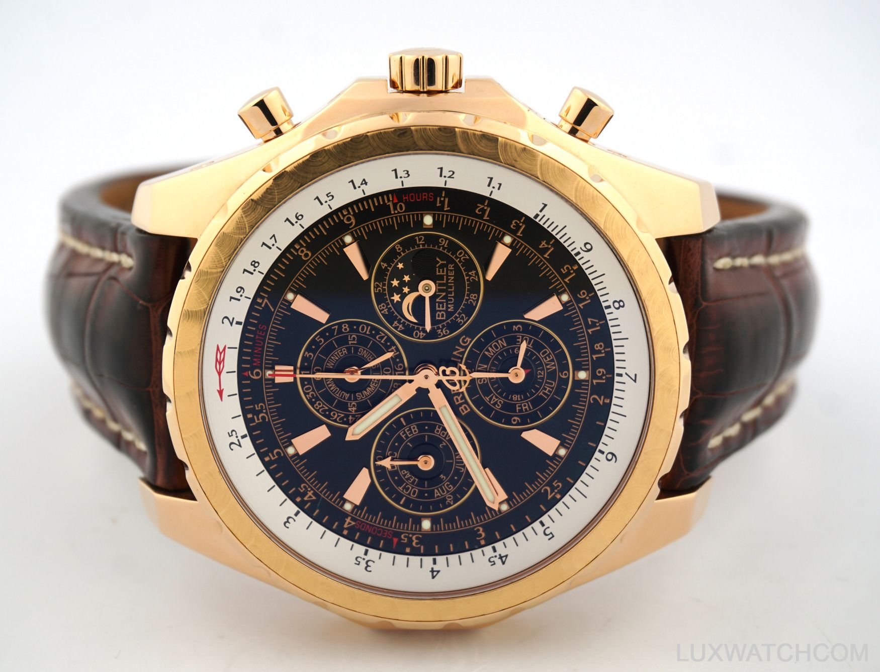 breitling bentley rose gold limited edition