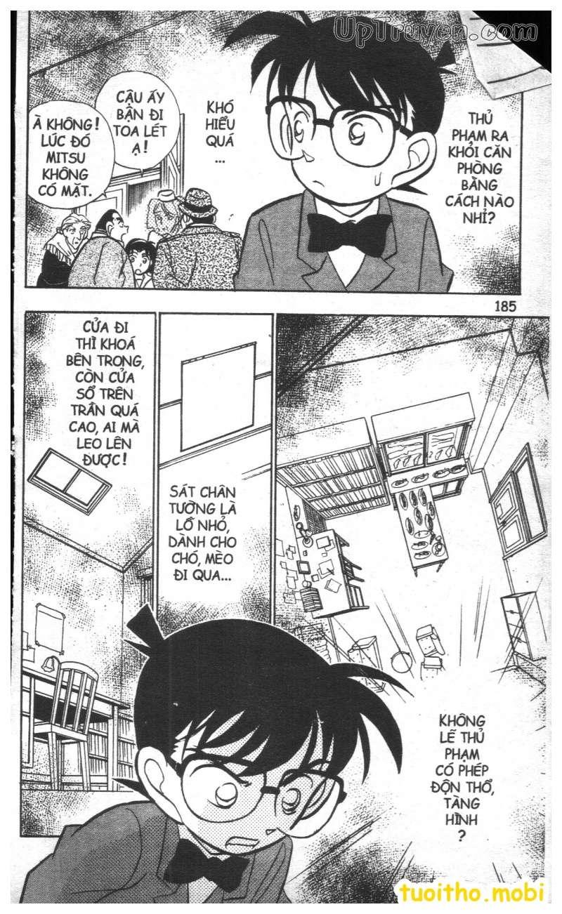 đọc truyện Conan bộ đặc biệt chap 27 trang 12