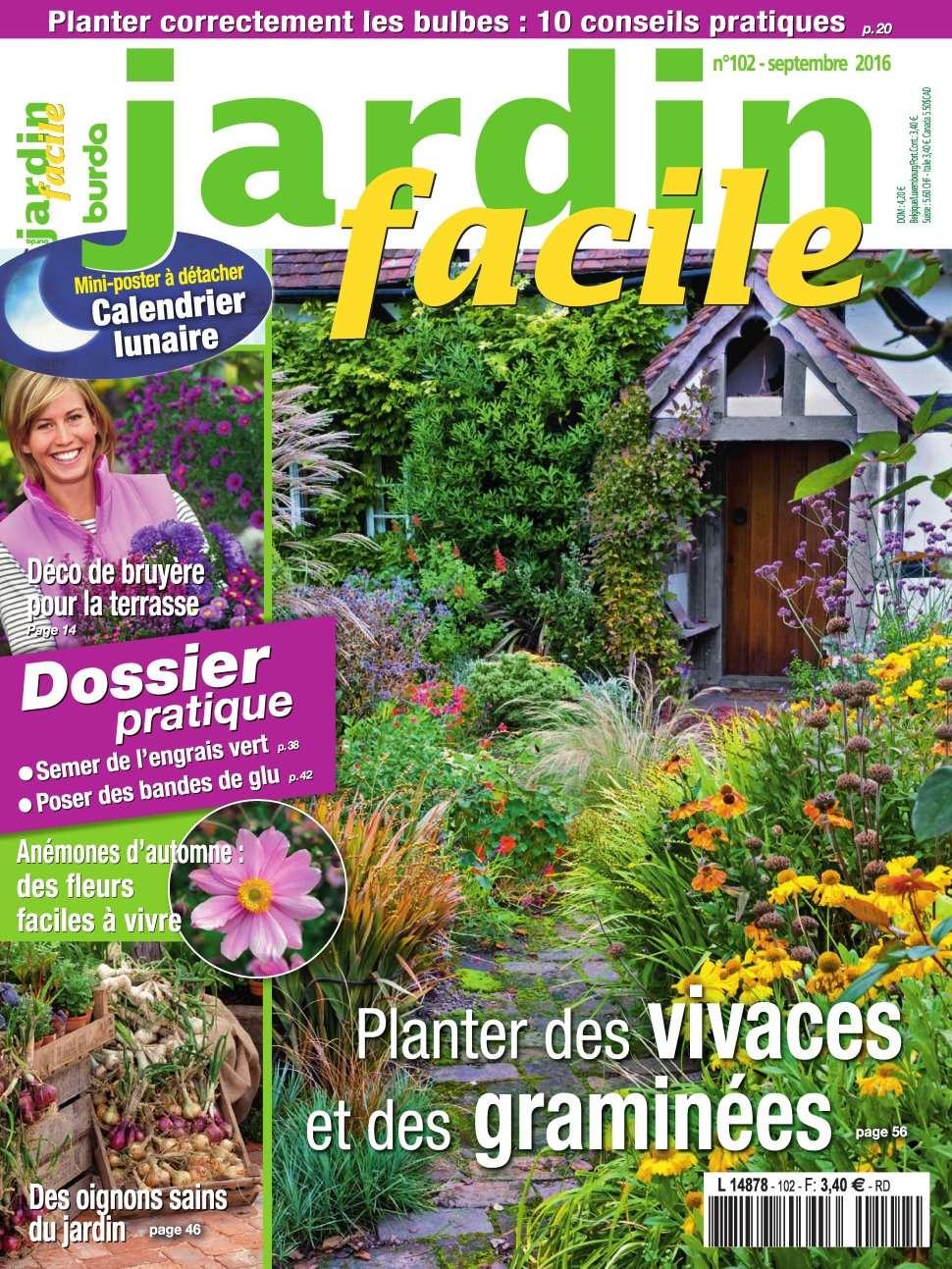 Jardin Facile 102 - Septembre 2016
