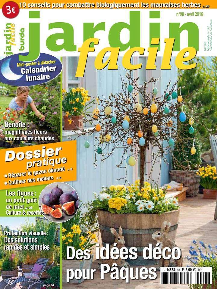 Jardin Facile 98 - Avril 2016