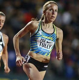 ... of the New Jersey New York Track Club, ran a US Olympic Trials qualifying time of 15:04.08 in the 5,000m during the Payton Jordan Invitational on May 1.