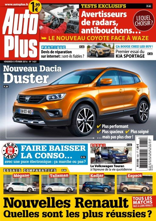 Auto Plus 1431 - 5 au 11 Février 2016