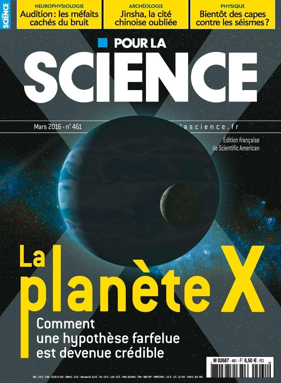 Pour la Science 461 - Mars 2016