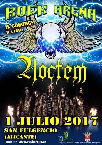 Rock Arena - cartel