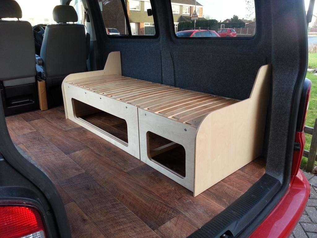 Sofa cama para furgoneta asiento cama con guias silln for Cuanto sale un sofa cama