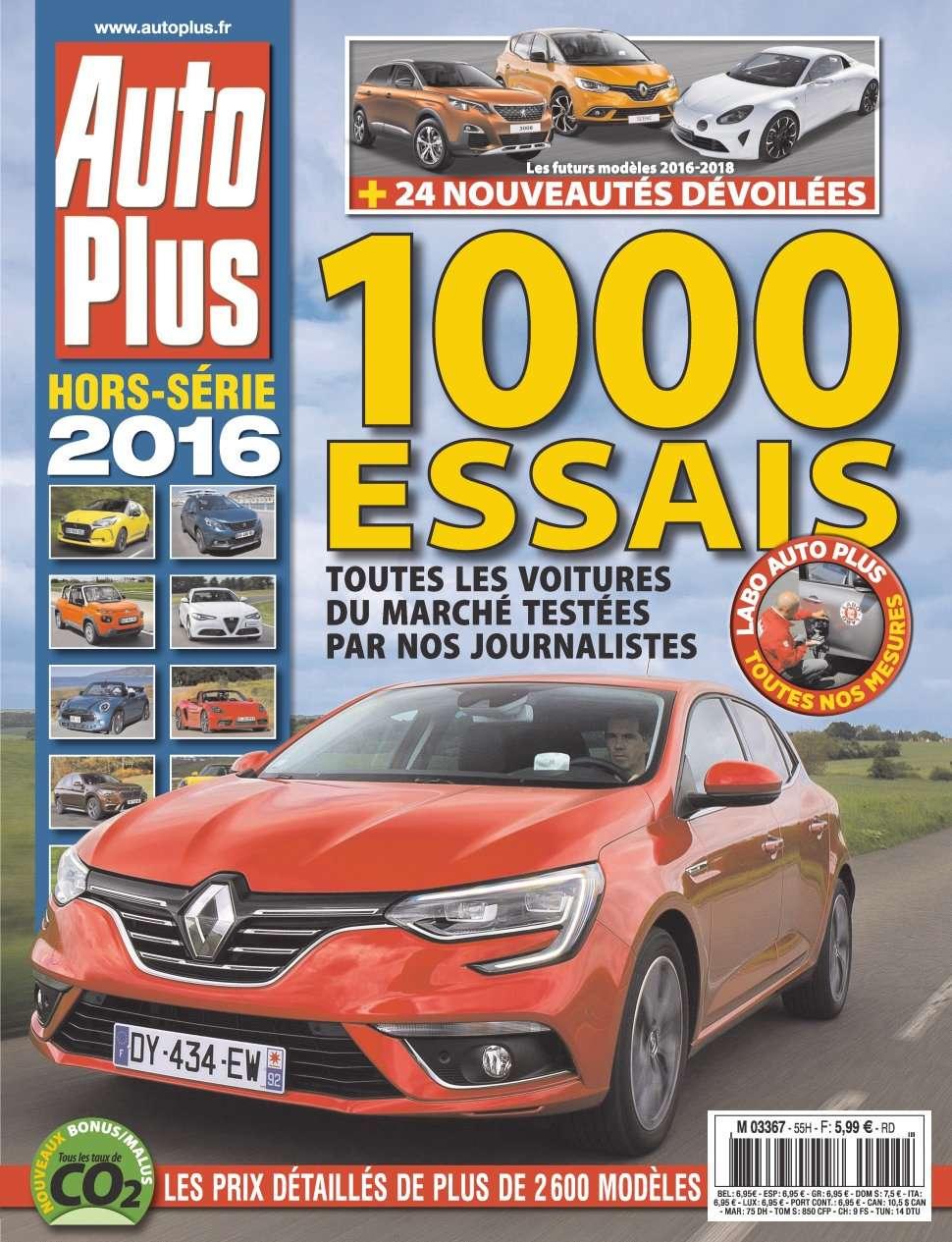 Auto Plus Hors-Série 44 - 1000 Essais 2016