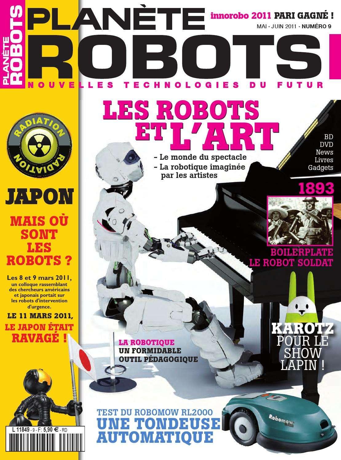 Planète Robots 9 - Les Robots et L'art