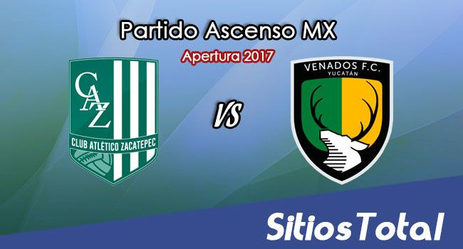 Atlético Zacatepec vs Venados FC en Vivo – Online, Por TV, Radio en Linea, MxM – Apertura 2017 – Ascenso MX