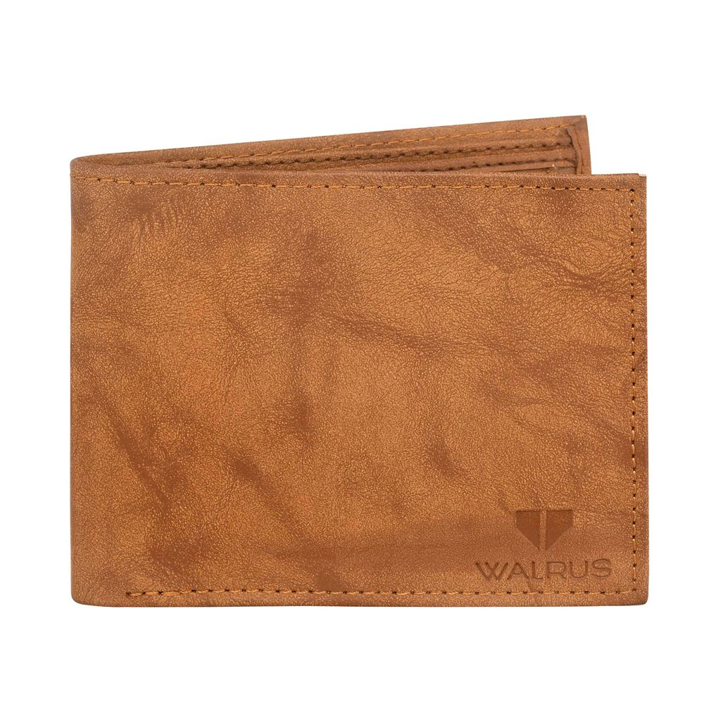 Walrus Brew Brown Color Men Leather Wallet- WW-BRW-09