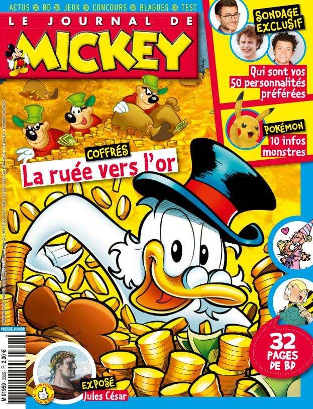 Le Journal de Mickey 3325 - 9 au 15 Mars 2016