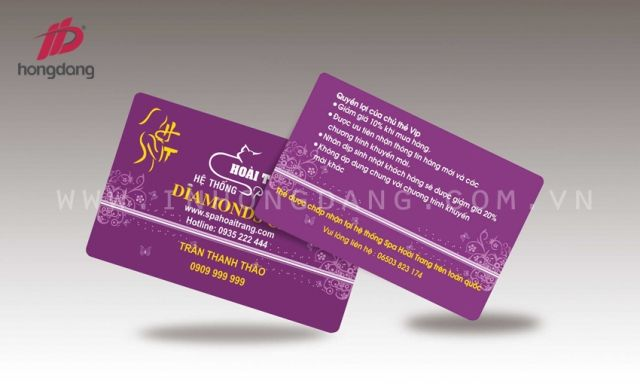 Chinh phục khách hàng với dịch vụ in thẻ VIP giá rẻ