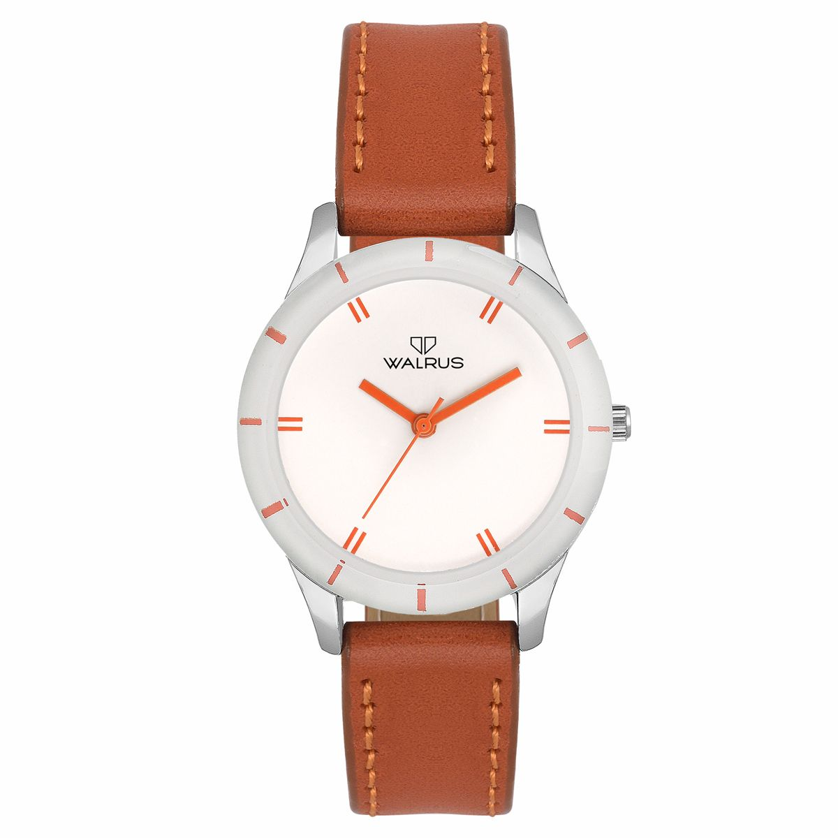 Walrus Eve White Color Analog Women Watch -WWW-Eve -011107