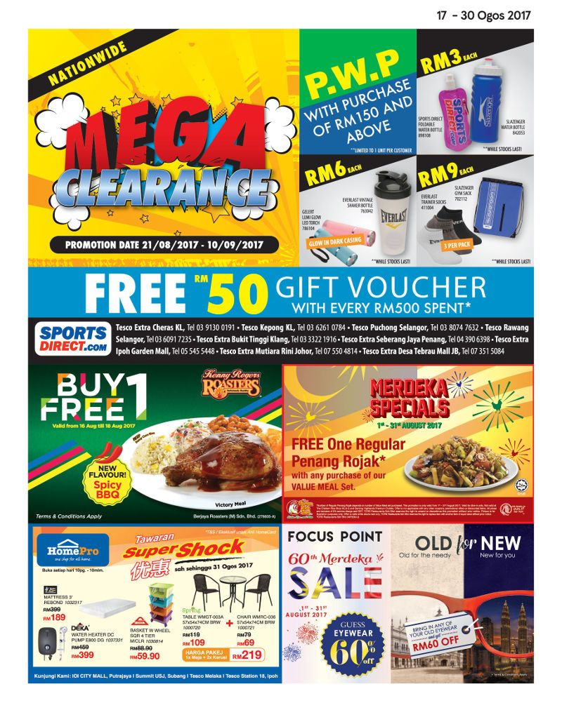 Tesco Malaysia Weekly Catalogue (17 Aug 2017 - 23 Aug 2017)