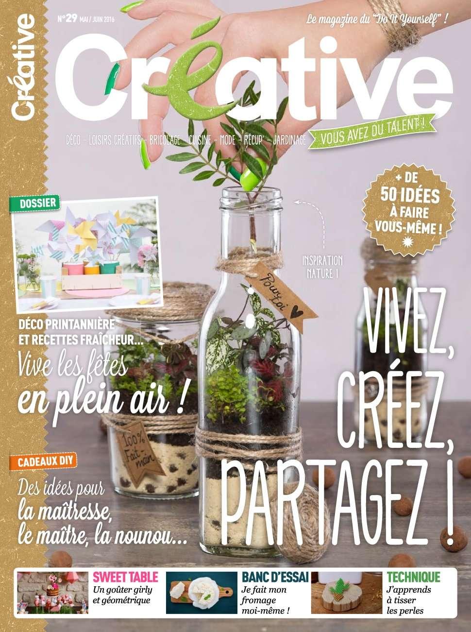 Créative 29 - Mai/Juin 2016