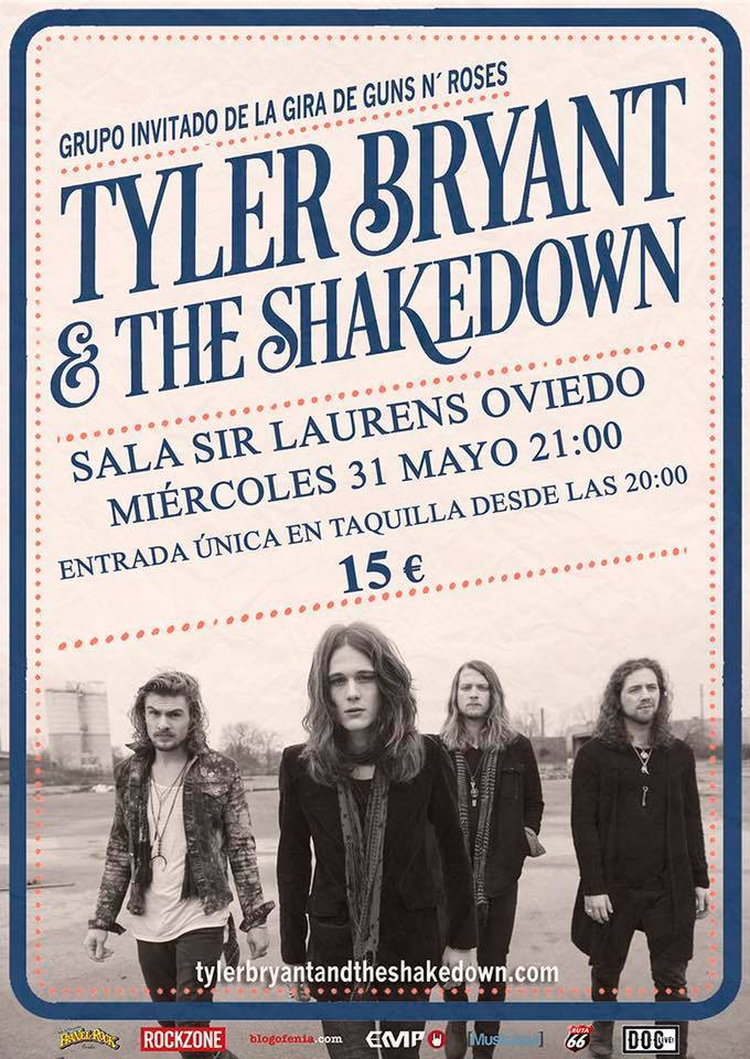 Tyler Bryant - cartel Oviedo