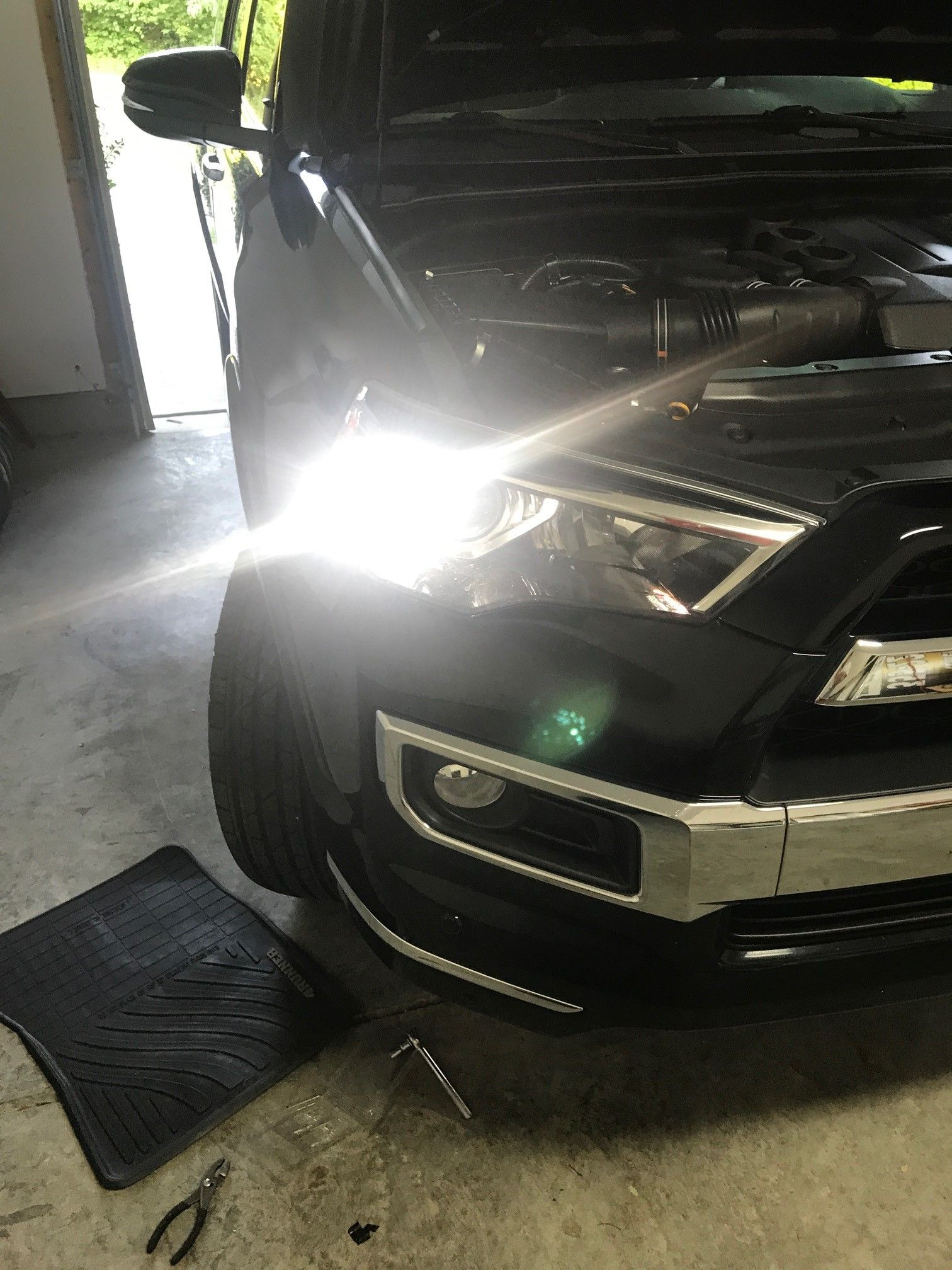 Front Turn Signal Led Resistor Question Toyota 4runner Forum Drl Switch Back Wiring Also Did The Disable Mod So That My High Beams Are Off And These New Switchbacks Stay On