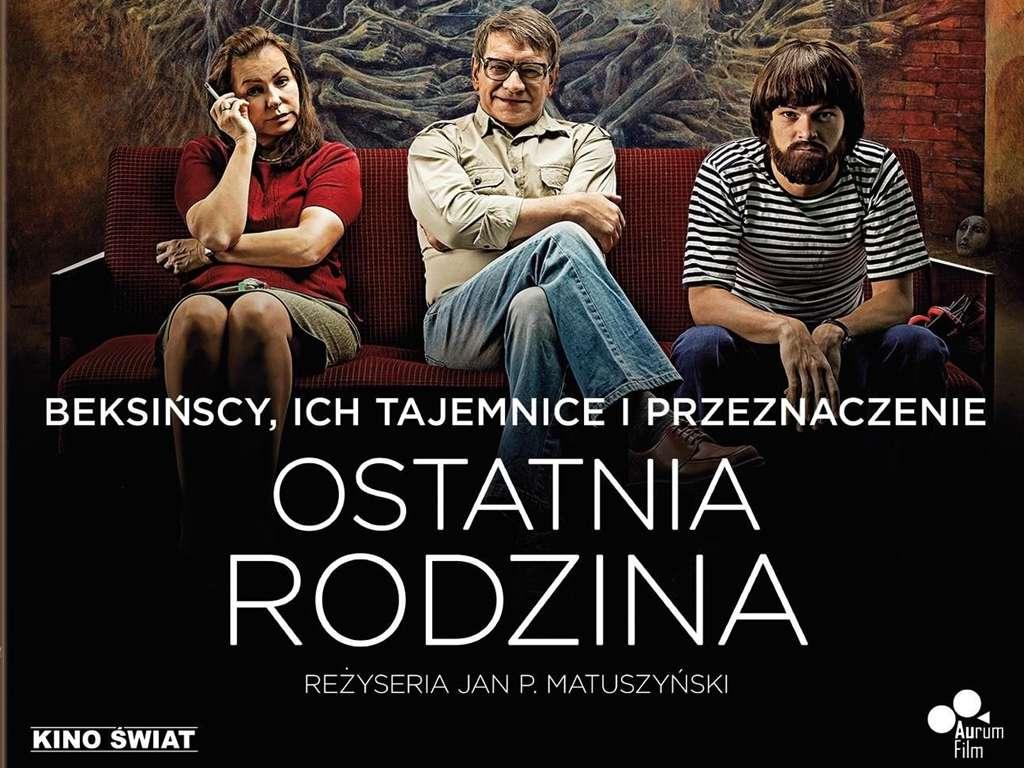 Η τελευταία οικογένεια (Ostatnia rodzina) Poster Πόστερ