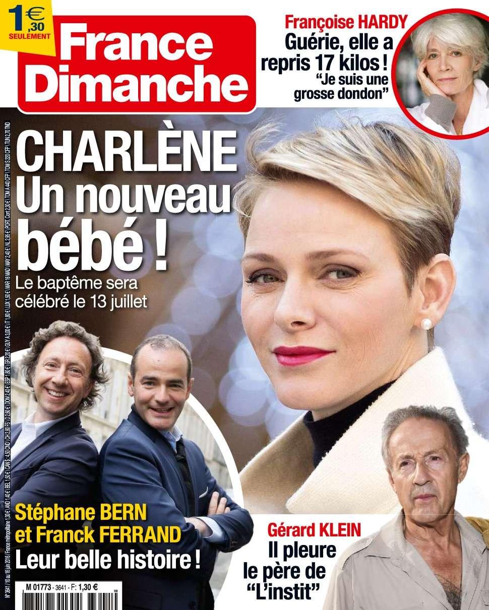 France Dimanche 3641 - 10 au 16 Juin 2016