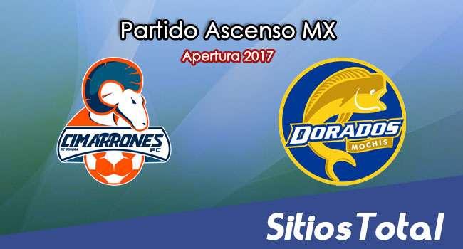 Cimarrones de Sonora vs Dorados de Sinaloa en Vivo – Jornada 9 Apertura 2017 Ascenso MX – Sábado 7 de Octubre del 2017