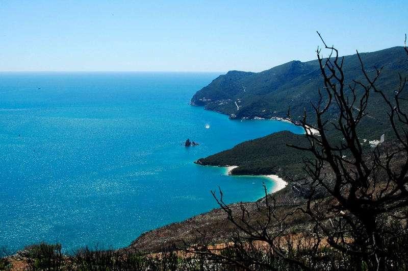 Imagem do Parque Natural da Arrábida