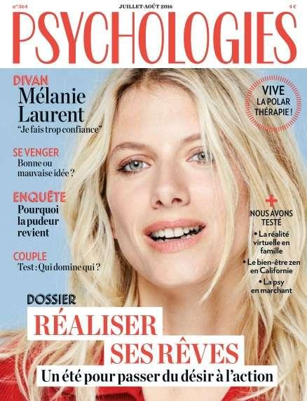 Psychologies France Juiillet/Août 2016