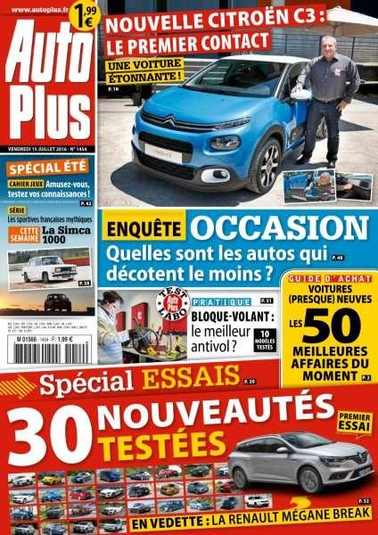 Auto Plus 1454 - 15 au 21 Juillet 2016