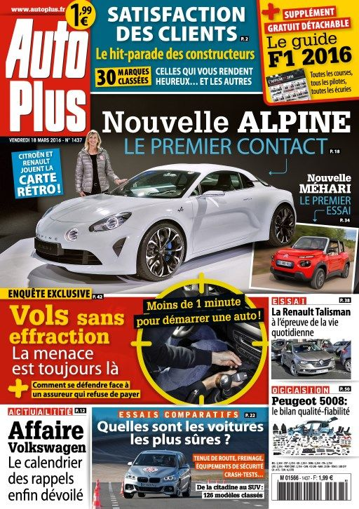 Auto Plus 1436 - 18 au 24 Mars 2016