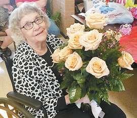 Margie Martin Celebrates 99th Birthday