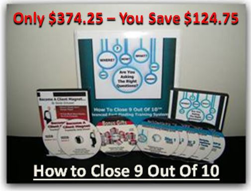 How To Close '9 Out Of 10'™  - Save $124.75