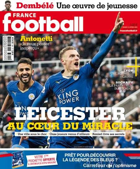 France Football - 19 Avril 2016