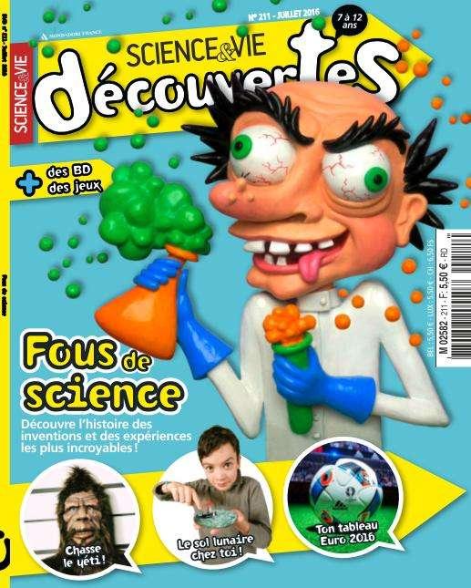 Science & Vie Découvertes - Juillet 2016