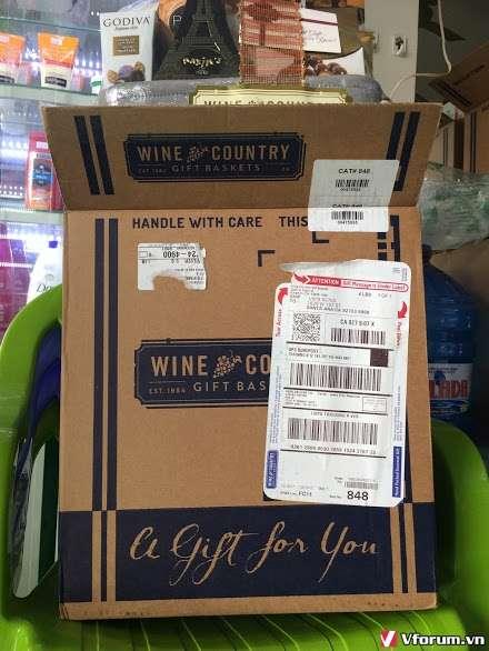 Gói quà tặng Tết - nhập khẩu từ Mỹ .